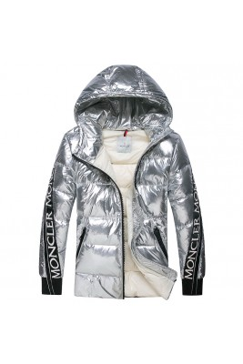 2018 Moncler Jackets For Women 162643 Silver