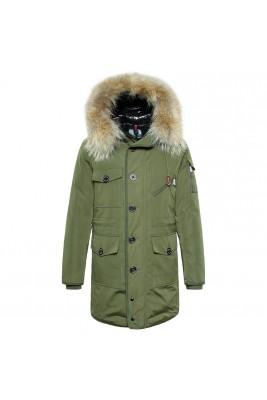 2018 Moncler Coats For Men 162803 Black Green