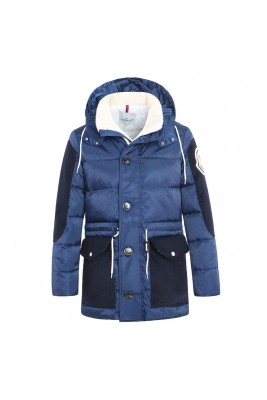 2018 Moncler Coats For Men 162911 Blue