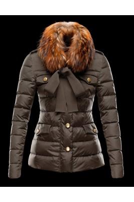 2018 Moncler Coats For Women 162918 Brown