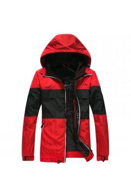 2018 Moncler Jackets For Men 162949 Red Black Beige Black