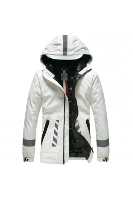 2018 Moncler Jackets For Men 163110 Black White