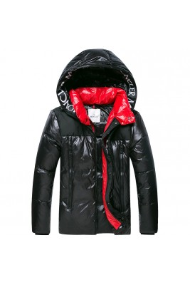 2018 Moncler Jackets For Men Black/Red (mc2018-016)