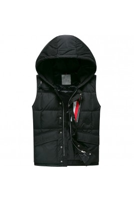 2018 Moncler Vests For Men 163133 Black