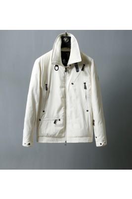 2018 Moncler Jackets For Men 163141 Black Beige