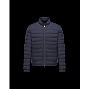 2017 New Style Moncler Men Jacket Down Breasted Style Classic Navy