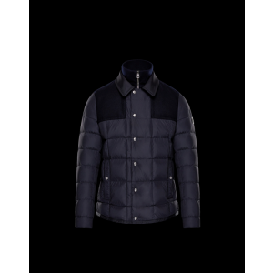 2017 New Style Moncler Mens Jacket Down Breasted Style Classic Black