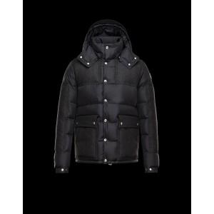 2017 New Style Moncler Cesar Down Mens Jackets Fashion Dark Black