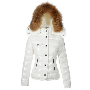 Moncler Armoise Hot Sell Down Jackets For Women White