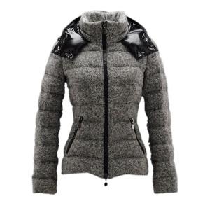 Moncler Astere Smart Casual Jacket Women Zipper Grey