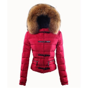 Moncler Crecerelle Top Quality Down Jacket Women Red