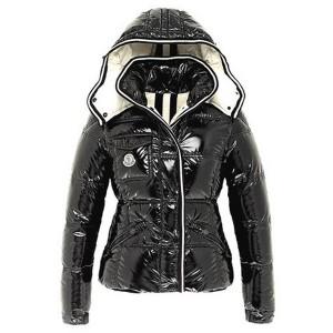 Moncler Quincy Classic Down Jackets For Women Button Black