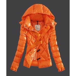 2016 Moncler Fashion Leisure Womens Down Jackets Yellow