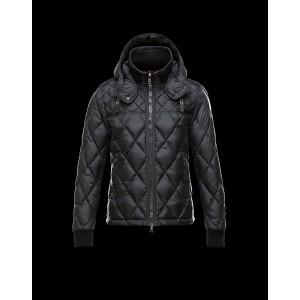 2016 Moncler GIRARDOT Fashion Down Jacket Men Black