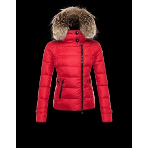 2016 Moncler Bryone Down Jacket For Women Red
