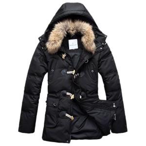 Moncler Down Coat Men Elegance Black