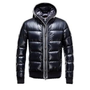 Moncler Cesar Down Mens Jackets Fashion Dark Blue
