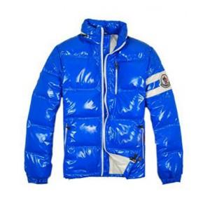 Moncler Eric Fashion Men Down Jackets Short Blue