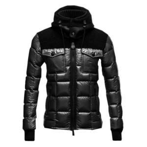 Moncler Lazare Down Jacket Fashion Men Short Black