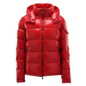 Moncler Maya Winter Mens Down Jacket Fabric Smooth Red