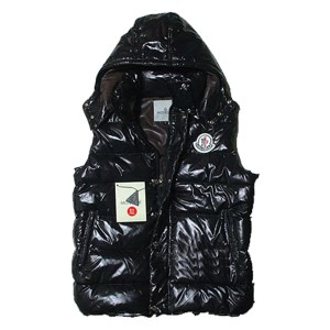 Moncler Cheval Sleeveless Down Vests Unisex In Black