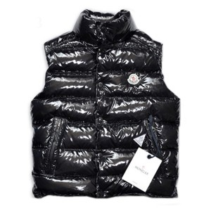 Moncler TIB Design Men Down Vests Sleeveless Black
