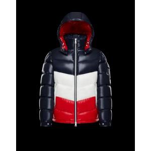 2018 Moncler Jackets For Men 162933 Red Blue