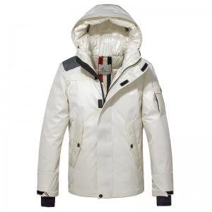 2018 Moncler Jackets For Men 163040 Black White