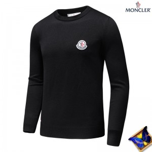 2018 Moncler Sweater For Men 163138 Black Gray