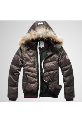 2017 New Style Moncler Top Quality Down Jackets For Men Coffee