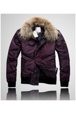 2017 New Style Moncler Top Quality Fashion Down Jackets For Men Claret