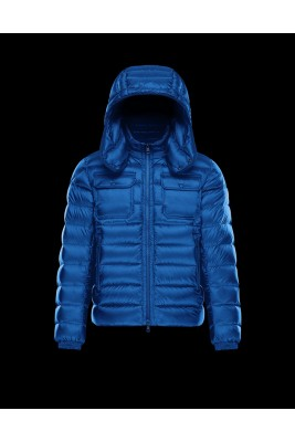 2017 New Style Moncler Reynold Featured Mens Down Jackets Blue