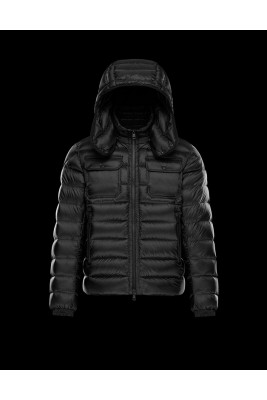 2017 New Style Moncler Reynold Featured Mens Down Jackets Black