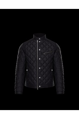 2017 New Style Moncler Leisure Down Jackets For Men Blcak