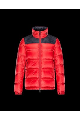 2017 New Style Moncler Down Jackets For Men Red