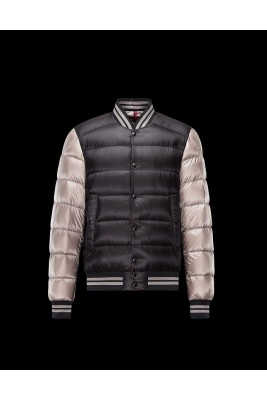 2017 New Style Moncler Top Quality Mens Down Jackets Single Breasted Black