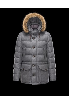 2017 New Style Moncler Mens Montgenevre Winter Down Jackets Gray