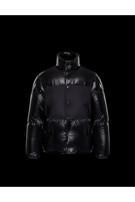 2017 New Style Moncler Mens Down Jackets Fabric Smooth Black