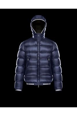 2017 New Style Moncler Maya Winter Mens Down Jackets Dark Blue