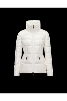 2017 New Style Moncler Sanglier Popular Jackets Womens Stand Collar White