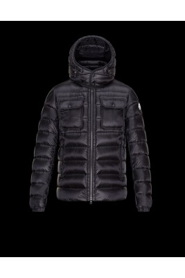 2017 New Style Moncler Maya Mens Down Jackets Black
