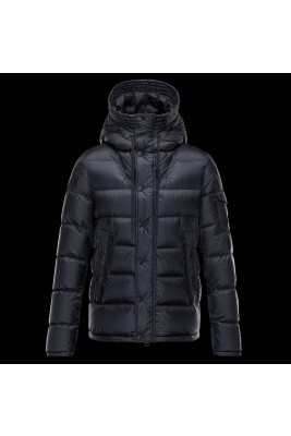 2017 New Style Moncler Cesar Down Mens Jackets Fashion Dark Blue