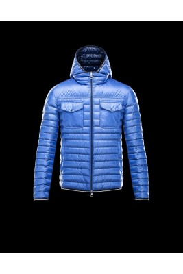 2017 New Style Moncler Down Jackets Handsome Men Blue