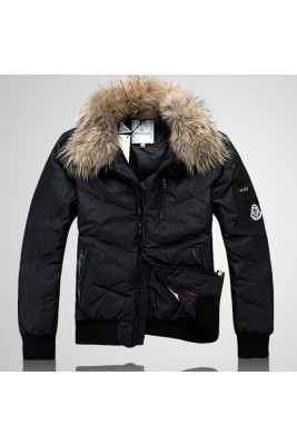 2017 New Style Moncler Down Jackets Handsome Men Black
