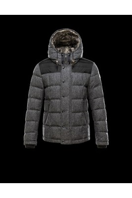 2017 New Style Moncler Eusebe Fashion Mens Down Jackets Grey