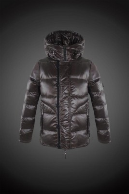 2017 New Style Moncler Fashion Down Jackets Handsome Men Dark Brown