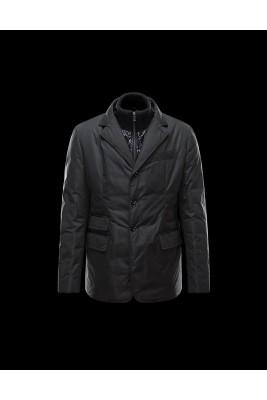 2017 New Style Moncler Fashion Mens Down Jackets Multi Pocket Black