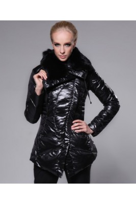 Moncler Coat Women Fashion Top Quality Black