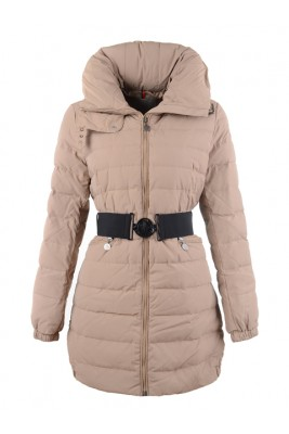 2016 Moncler Coats On Sale For Womens Beige Outlet