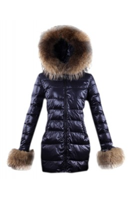 Moncler Mari Women Coat Euramerican Style Black